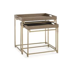 In/Out Box : Classic Contemporary : LIVING - END/SIDE TABLES : CON-SIDTAB-032 | Caracole Furniture