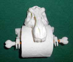 3D Printed T-Rex Toilet Paper Holder