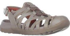 Bare Traps Baretraps Frenzi Flats Closed Toe Sandals, Taupe.