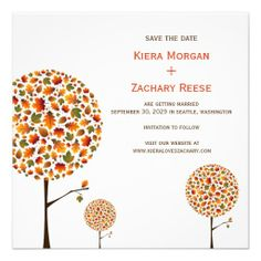 >>>The best place          Autumn Fall Leaves Trees Wedding Save The Date Announcements           Autumn Fall Leaves Trees Wedding Save The Date Announcements today price drop and special promotion. Get The best buyDeals          Autumn Fall Leaves Trees Wedding Save The Date Announcements ...Cleck Hot Deals >>> http://www.zazzle.com/autumn_fall_leaves_trees_wedding_save_the_date_invitation-161163925442500207?rf=238627982471231924&zbar=1&tc=terrest