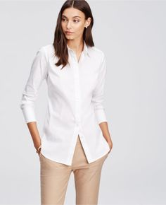 A versatile white button down: http://www.stylemepretty.com/living/2015/10/03/the-15-classic-pieces-every-woman-needs-in-her-wardrobe/