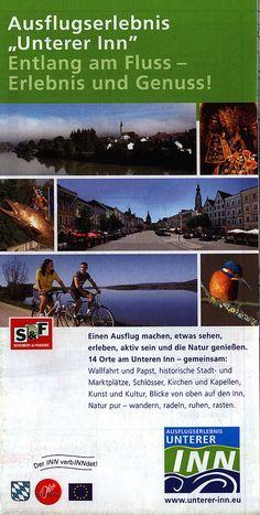 https://flic.kr/p/RTJ1vb | Niederbayern - Ausflugserlebnis Unterer Inn Entlang am Fluss - Erlebnis und Genuss! 2010, map, Bavaria, Germany
