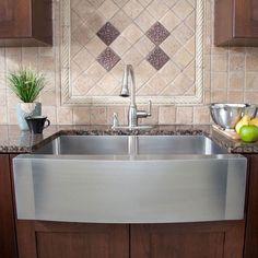 contemporary kitchen design farmhouse sink stainless steel granite countertop