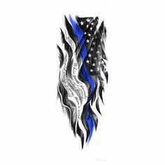 american flag tattoos blue line * american flag blue line tattoo , american flag with blue line tattoo , american flag thin blue line tattoo , american flag tattoos blue line , american flag tattoos thin blue line Patriotische Tattoos, Tattoos Arm Mann, Tattoos Geometric, Tribal Sleeve Tattoos, Tattoos Skull, Celtic Tattoos, Tattoo Sleeve Designs, Tattoo Designs Men, Hand Tattoos