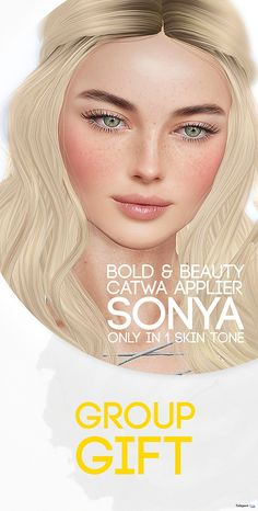Sonya Fair Skin Tone Catwa Applier Group Gift by Bold & Beauty
