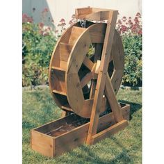 Buy Woodworking Project Paper Plan to Build Water Wheel, Plan No. 891 at Woodcraft.com... $9.95