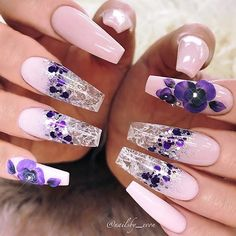 """2,148 Likes, 11 Comments - NAIL TRENDS (@the.glitter.nail) on Instagram: """": Picture and Nail Design by •• @nailsby_evon •• ❤️Follow @nailsby_evon for more gorgeous nail…"""""""
