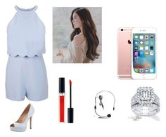"""""""Sans titre #1"""" by minhphuong-4 ❤ liked on Polyvore featuring Miss Selfridge, Pour La Victoire, Christian Dior, Galaxy Audio and Neil Lane"""