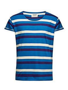 Robit Stripe Tee, Mykonos Blue, main