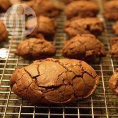 Crackled Chocolate Cookies @ allrecipes.com.au
