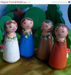 4 season peg dolls