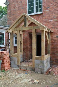 Affable sought entrance porch design Apply Now Front Door Porch, Porch Roof, Porch Uk, Front Door Canopy Uk, Front Entry, House With Porch, House Front, Porche Chalet, Sas Entree
