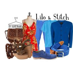 """Lilo & Stitch"" by lalakay on Polyvore"