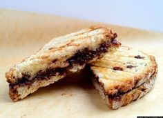 Dark chocolate and Parmesan grilled cheese sandwich.  A winning combo and proven through science!  Gonna try this one!