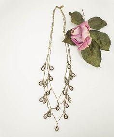 Look what I found on #zulily! Rhinestone Isabeau Statement Necklace #zulilyfinds