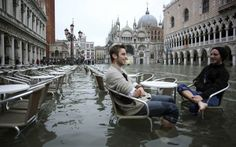 Venice, Aqua Alta | If this is even real, I can't wait to see it when I'm in Venice....