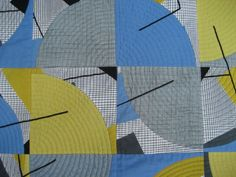 Detail of Skirting the Circle by Beth Copeland