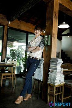 Park, Ki-woong mas tolong dong jangan senyum, mati gaya nih saiaaaa