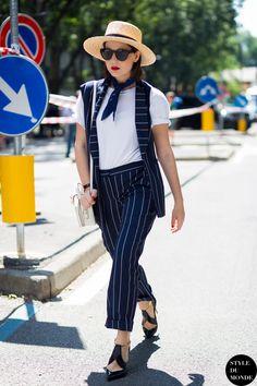 Milan Men's SS16 Street Style: After Emporio Armani