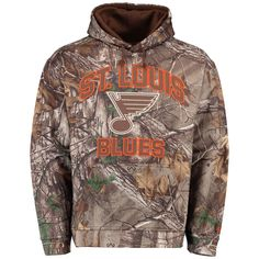 NHL St. Louis Blues Old Time Hockey Parot Hoodie - Realtree Camo