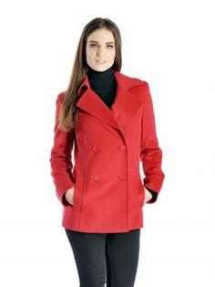 Cashmere Pea Coat for Women