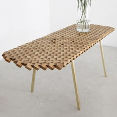 Geometric Tables – Furniture Design by The Fundamental Shop