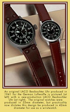 I just bought someone this for their birthday. A true original WWII German pilot watch.