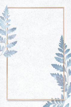 Floral Wallpaper Phone, Flower Background Wallpaper, Framed Wallpaper, Butterfly Wallpaper, Flower Backgrounds, Cute Wallpaper Backgrounds, Leaves Wallpaper, Frame Background, Floral Watercolor Background