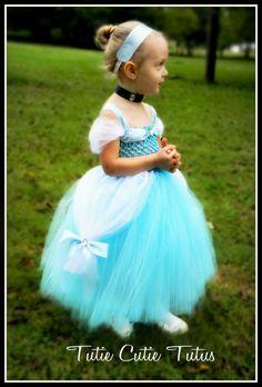 Cinderella Disney Princess Tutu Dress Nb-5yrs. $60.00, via Etsy.