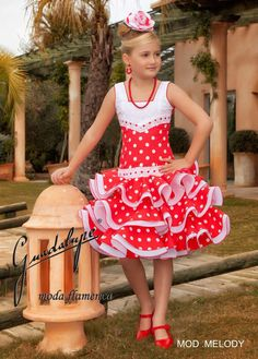 guadalupe moda - TorreFlamenca | trajes, calzado y complementos de flamenca Country Time Lemonade Mix, African Fashion, Kids Fashion, Pageant Hair, Flamenco Dancers, Spanish Fashion, Summer Pool, Gowns Of Elegance, Little Girl Hairstyles