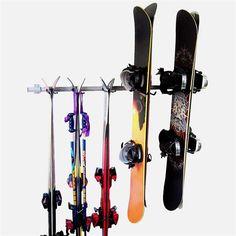 Monkey Bar Ski And Snowboard Storage Rack