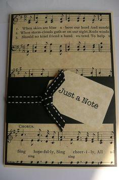 Homemade Diy Birthday Card Ideas For Classmates Musical Cards