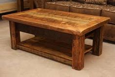 Lovely, chunky table.