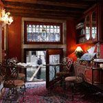 Locanda Orseolo, Venice, Italy.  Crawl in window from canal to check in!
