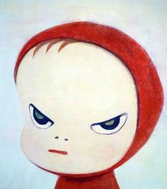 Oil painting Reproduction Yoshitomo Nara Little Riding Red Hood made to order Yoshitomo Nara, Photo Awards, Kawaii, Folk, Red Hood, Animation, Japanese Artists, Graphic Design Inspiration, Painting & Drawing