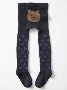 Starry bear tights