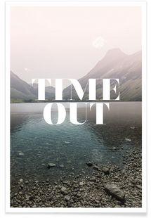 Time Out - Amy & Kurt - Affiche premium