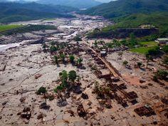Águas de Pontal: Onda de rejeitos da Samarco atingiu 663 km de rios...