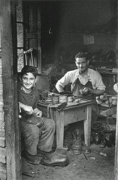 El oficio de zapatero en la Asturias de los años 40