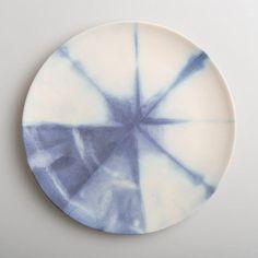 Borden Chiya, bamboo, blauw, ø21,                              (set van 6)