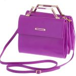 The Stella bag in radiant orchid - one of my absolute faves. Shop www.dearosa.com.