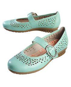 Deerberg Strap Shoes Tamy, mint
