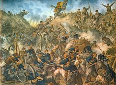 The Siege of Plevna, or Siege of Pleven, was a major battle of the Russo-Turkish War fought by the joint army of Russia and Romania against the O. Independence War, The Siege, Knights Templar, World War One, Ottoman Empire, Military History, Artist Painting, Macedonia, Art Drawings
