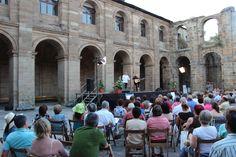 Recital romántico #CongresoGilYCarrasco .#El Bierzo - M-14 Monasterio de San Andrés #VegaDeEspinareda con Amancio Prada y Juan Carlos Mestre - FOTOGRAFÍA: David, Álvarez