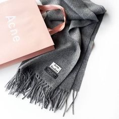 Acne Studios Scarf in grey