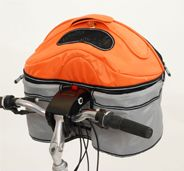 Pod ILovePet Carrier ~ a versatile dog carrier designed to fit the Quadro Stroller, to be carried on your shoulder, to be tighten to the car seat or to be attached to your bike w/ the Pod iLove Bike Connection $110