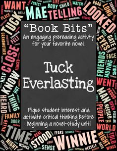 thesis of tuck everlasting