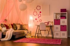 Top 25 Wall Colors For Bedroom And Living Room Wall Colors Combination Wall Paint Colors. Home Decor Ideas For Living Room. Change Your Living Room Decor On A Limited Budget In Six Steps Bedroom Wall Colors, Bathroom Paint Colors, Bedroom Color Schemes, Paint Colors For Living Room, Bedroom Themes, Bedroom Ideas, Bedroom Lamps, Girl Bedroom Designs, Girls Bedroom