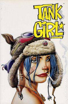PANINI COMICS MILLIGAN- Peter Milligan (X-Statix, Shade) eJamie Hewlett (creatore di Tank Girle dei Gorillaz) - http://c4comic.it/2014/10/11/anteprima-tank-girl-lodissea/