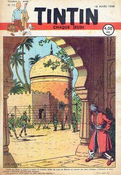 Le Journal de Tintin - Edition Belge - N°  78 - 1948-12 - Jeudi 18 Mars 1948 - Couverture : Edgar P. Jacobs